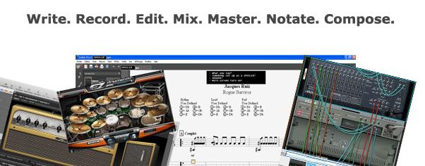 SONGWRITING SOFTWARE OVERVIEW